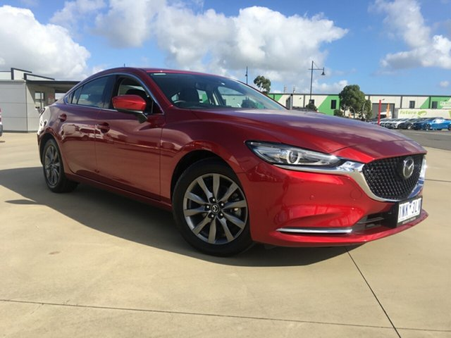 Used Mazda 6 GL1031 Touring SKYACTIV-Drive, 2018 Mazda 6 GL1031 Touring SKYACTIV-Drive Soul Red Crystal 6 Speed Sports Automatic Sedan