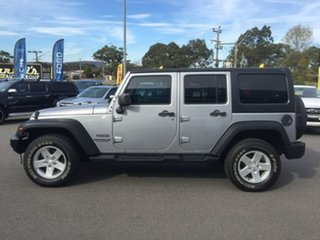 2014 Jeep Wrangler JK MY2014 Unlimited - Sport Silver 6 Speed Manual Softtop