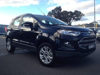 2017 Ford Ecosport BK Titanium Black 6 Speed Sports Automatic Dual Clutch Wagon.