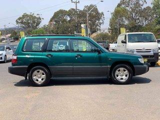 2000 Subaru Forester GX Green Manual Wagon