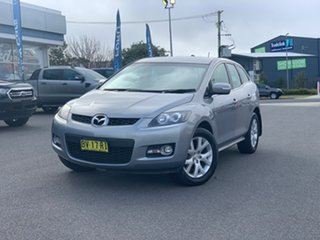 2008 Mazda CX-7 ER1031 MY07 Classic Silver 6 Speed Sports Automatic Wagon