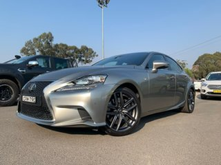 2014 Lexus IS350 F Sport Silver Sports Automatic Sedan.
