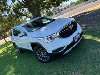 2018 Holden Acadia AC MY19 LTZ AWD White 9 Speed Sports Automatic Wagon.