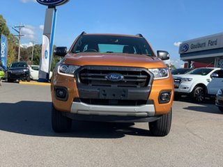 2018 Ford Ranger PX MkIII 2019.00MY Wildtrak Orange 6 Speed Sports Automatic Dual Cab Utility.