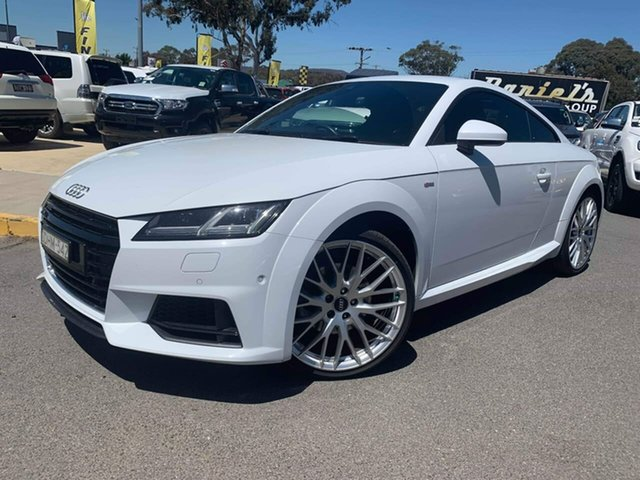 Used Audi TT  S Line, 2016 Audi TT S Line White Sports Automatic Dual Clutch Coupe