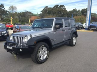 2014 Jeep Wrangler JK MY2014 Unlimited - Sport Silver 6 Speed Manual Softtop.