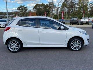 2012 Mazda 2 Genki White Automatic Hatchback.