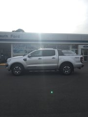2018 Ford Ranger PX MkII 2018.00MY Wildtrak Silver 6 Speed Sports Automatic Dual Cab Utility