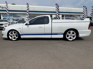 2007 Ford Sedans BF Mk II Cobra White 6 Speed Sports Automatic Utility - Extended Cab.