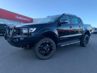 2019 Ford Ranger Wildtrak Shadow Black Sports Automatic Dual Cab Utility.