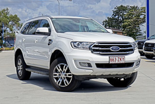 2019 Ford Everest UA II 2019.00MY Trend 4WD White 10 Speed Sports Automatic Wagon.
