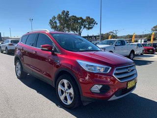 2018 Ford Escape ZG 2018.00MY Trend Red 6 Speed Sports Automatic Dual Clutch Wagon