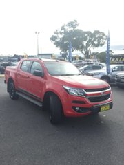 2017 Holden Colorado RG MY18 Z71 Red 6 Speed Sports Automatic Dual Cab Utility.