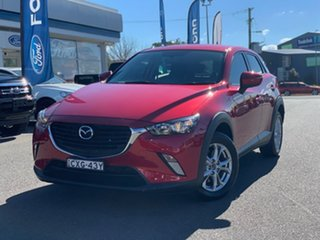 2015 Mazda CX-3 DK4W7A Maxx Red 6 Speed Sports Automatic Wagon.