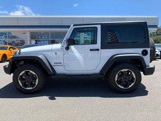 2016 Jeep Wrangler Sport White Automatic Softtop.