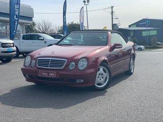 2001 Mercedes-Benz CLK-Class A208 CLK230 Kompressor - Elegance Red 5 Speed Automatic Cabriolet