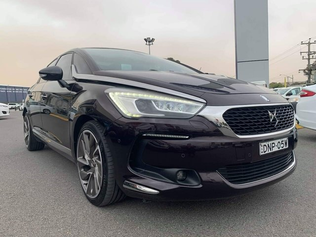Used Citroen DS5  60th Edition, 2015 Citroen DS5 60th Edition Purple Sports Automatic Hatchback