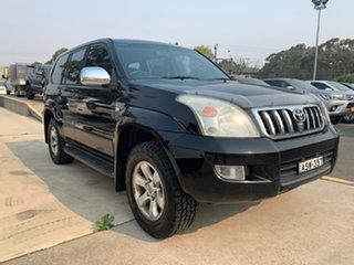 2005 Toyota Landcruiser Prado GXL Black Automatic Wagon.