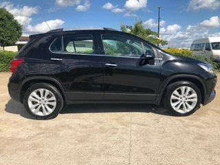2018 Holden Trax TJ MY18 LTZ Black 6 Speed Automatic Wagon.