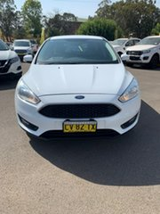 2012 Ford Focus Trend White Automatic Hatchback.