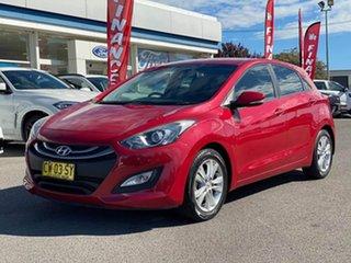 2014 Hyundai i30 GD MY14 SE Red 6 Speed Sports Automatic Hatchback.
