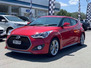 2015 Hyundai Veloster SR - Turbo Red Sports Automatic Dual Clutch Hatchback.