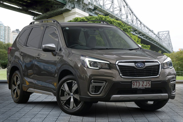 Demo Subaru Forester S5 MY20 2.5i-S CVT AWD, 2019 Subaru Forester S5 MY20 2.5i-S CVT AWD Sepia Bronze 7 Speed Constant Variable Wagon
