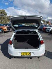 2014 Volkswagen Golf VII MY15 GTi White 6 Speed Sports Automatic Dual Clutch Hatchback
