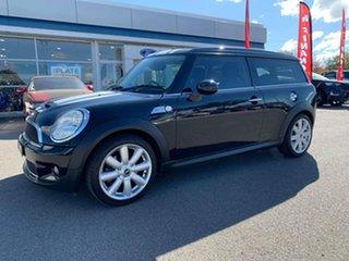 2009 Mini Clubman Cooper S Black Sports Automatic Wagon.