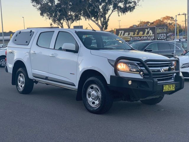 Used Holden Colorado RG MY17 LS, 2016 Holden Colorado RG MY17 LS White 6 Speed Sports Automatic Dual Cab Utility