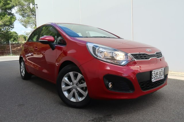 Used Kia Rio UB MY14 SE, 2014 Kia Rio UB MY14 SE Red 4 Speed Sports Automatic Hatchback