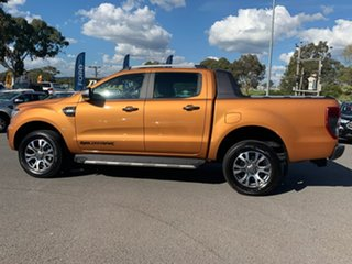 2018 Ford Ranger PX MkIII 2019.00MY Wildtrak Orange 6 Speed Sports Automatic Dual Cab Utility