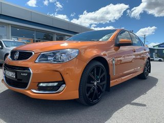2017 Holden Commodore VF II MY17 SS Orange 6 Speed Manual Sedan