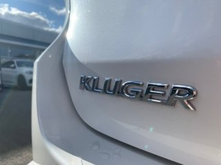 2018 Toyota Kluger Grande White Sports Automatic Wagon