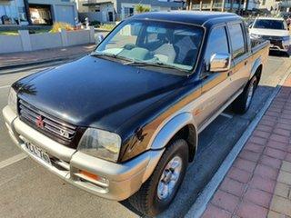 1998 Mitsubishi Triton MK GLX Double Cab 5 Speed Manual Utility.