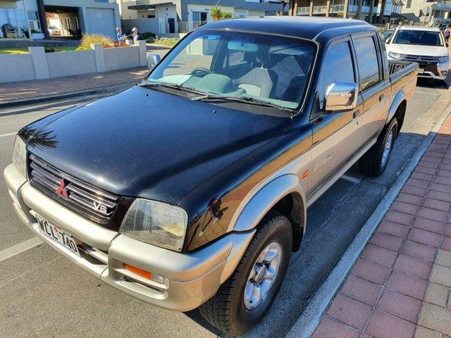 Used Mitsubishi Triton MK GLX Double Cab Morphett Vale, 1998 Mitsubishi Triton MK GLX Double Cab 5 Speed Manual Utility