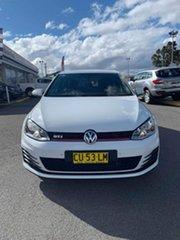 2014 Volkswagen Golf VII MY15 GTi White 6 Speed Sports Automatic Dual Clutch Hatchback.