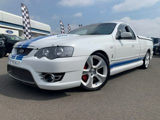 2007 Ford Sedans BF Mk II Cobra White 6 Speed Sports Automatic Utility - Extended Cab