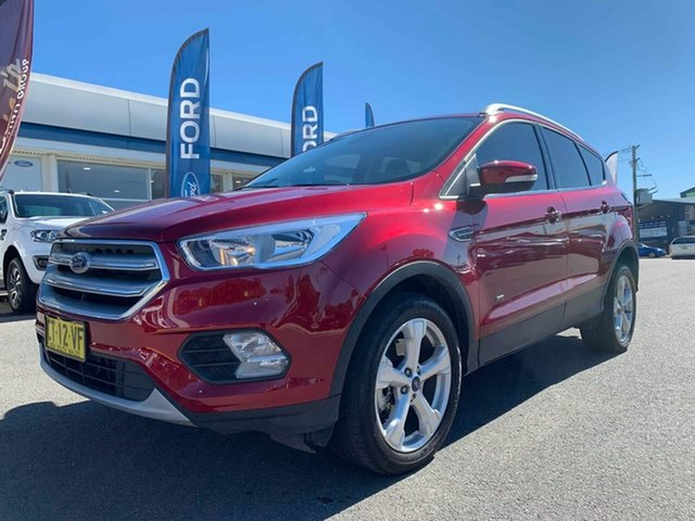 Used Ford Escape ZG 2018.00MY Trend, 2018 Ford Escape ZG 2018.00MY Trend Red 6 Speed Sports Automatic Dual Clutch Wagon