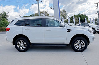 2019 Ford Everest UA II 2019.00MY Trend 4WD White 10 Speed Sports Automatic Wagon