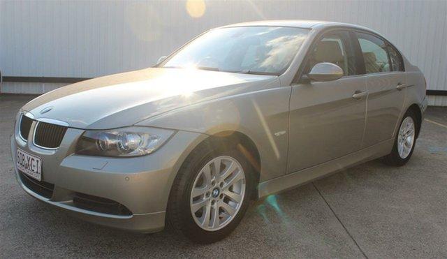 Used BMW 3 Series E90 MY08 320i Steptronic, 2007 BMW 3 Series E90 MY08 320i Steptronic Silver 6 Speed Sports Automatic Sedan