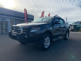 2014 Ford Ranger PX Wildtrak Grey 6 Speed Sports Automatic Dual Cab Utility