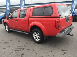 2013 Nissan Navara D40 S6 MY12 ST Red 5 Speed Sports Automatic Dual Cab Utility