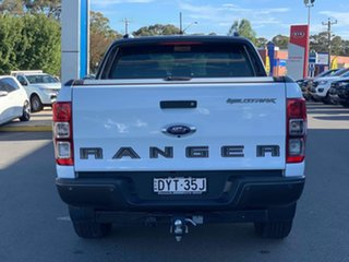 2018 Ford Ranger Wildtrak Frozen White Sports Automatic Dual Cab Utility
