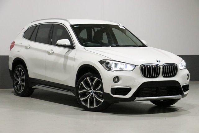 Demo BMW X1 F48 MY19 xDrive 25I, 2018 BMW X1 F48 MY19 xDrive 25I White 8 Speed Automatic Wagon