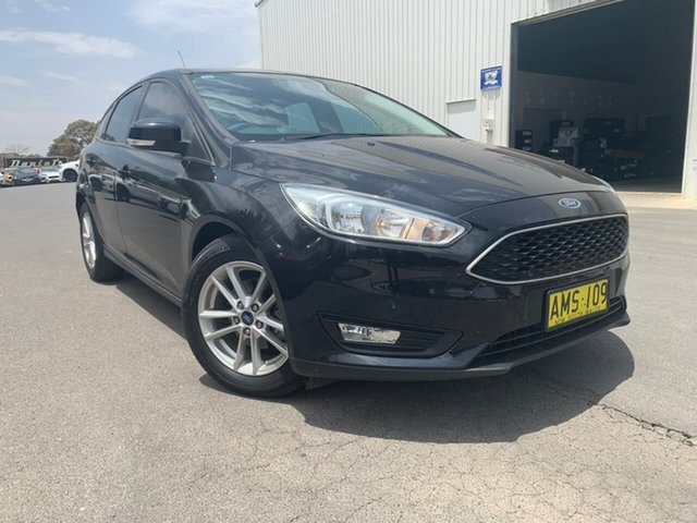 Used Ford Focus LZ Trend, 2016 Ford Focus LZ Trend Black 6 Speed Automatic Hatchback