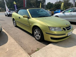 2004 Saab 9-3 MY04 Linear Green 5 Speed Sports Automatic Convertible.
