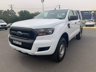 2018 Ford Ranger XL - Hi-Rider Frozen White Sports Automatic Cab Chassis - Dual Cab.