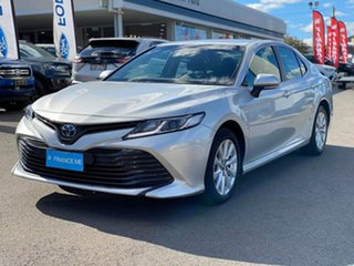 2018 Toyota Camry Ascent Silver Constant Variable Sedan.