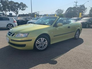 2004 Saab 9-3 MY04 Linear Green 5 Speed Sports Automatic Convertible
